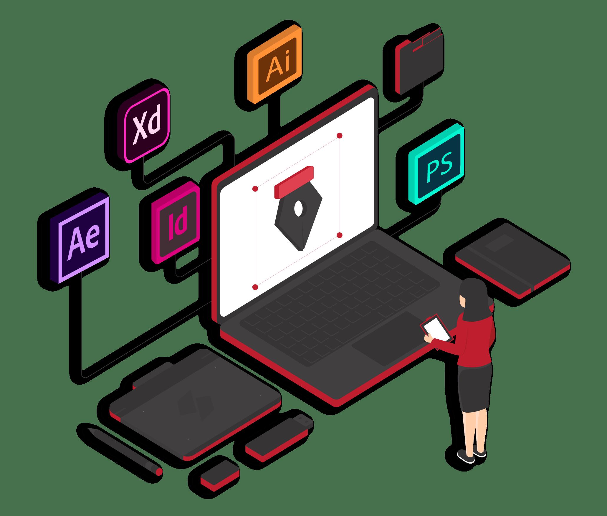 Graphic Design Service Reinforce Lab
