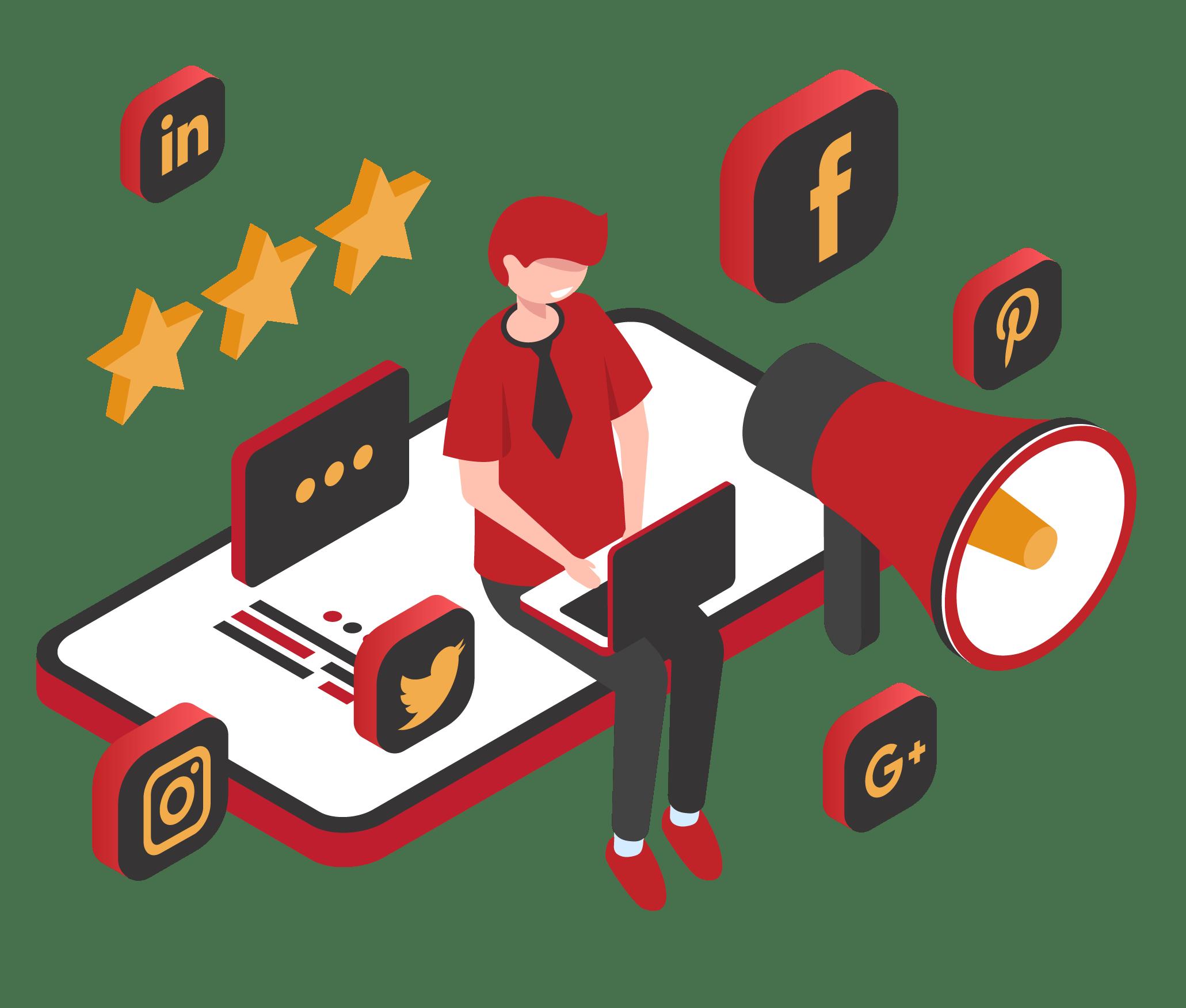 Social Media Marketing Service Reinforce Lab