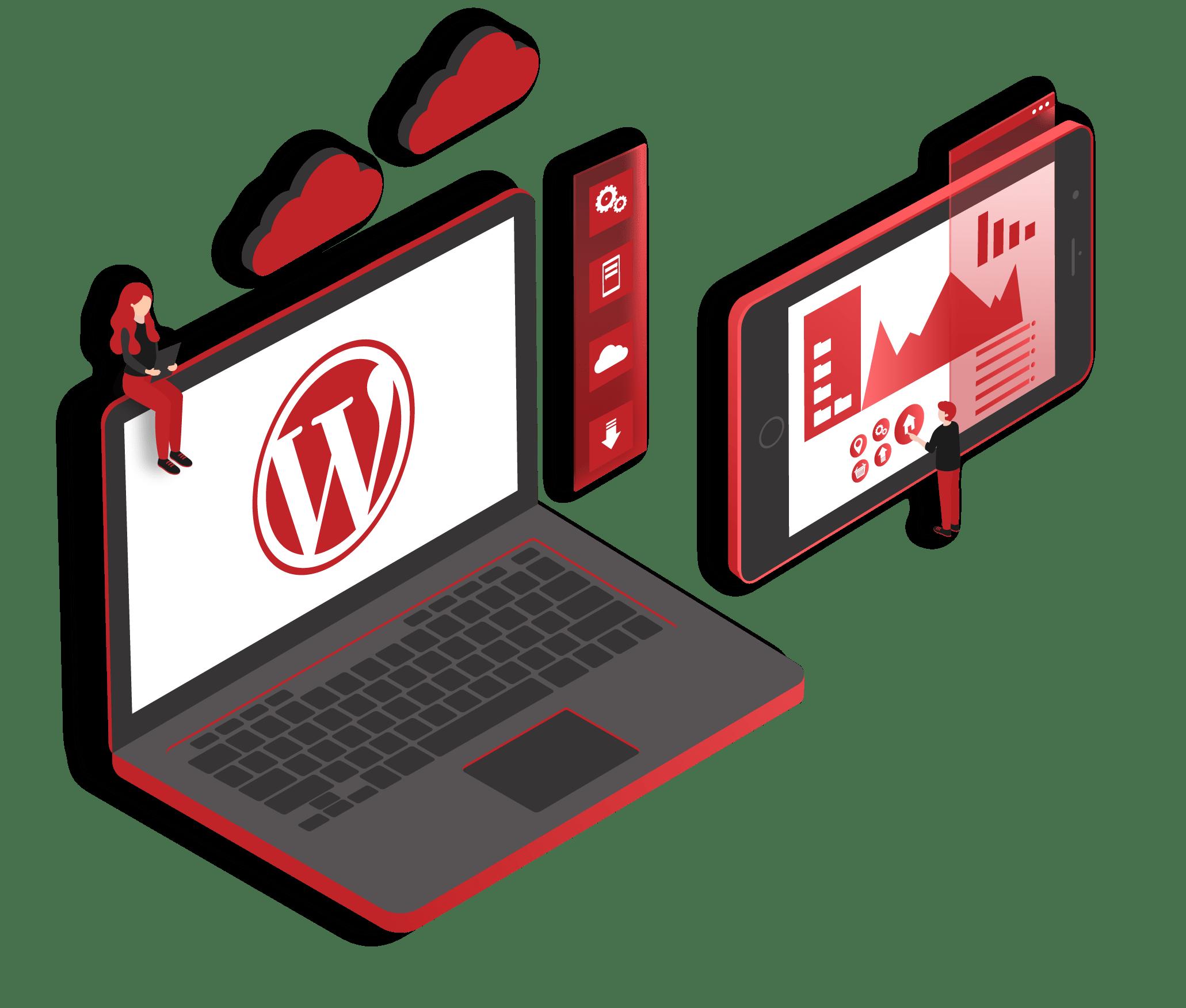 WordPress Web Design Service Reinforce Lab